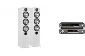 ARCAM SA10 + CDS50 + MONITOR AUDIO BRONZE 6 W