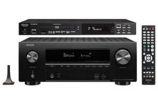DENON AVR-X2500H + DN-500BD