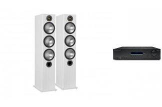 CAMBRIDGE AUDIO SR10V2 + MONITOR AUDIO BRONZE 6 W
