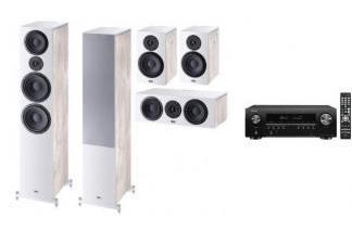 DENON AVR-S650H + HECO AURORA 1000 WH 5.0