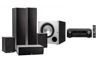 DENON AVR-S650H + POLK AUDIO T50 / T15/ T30 / PSW10