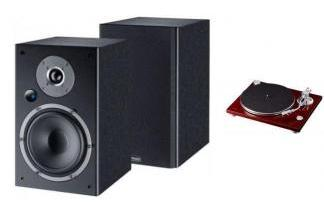 TEAC TN-3B-cherry + MAGNAT MONITOR REFERENCE A3