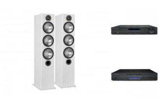 CAMBRIDGE AUDIO AM10 + CD5 + MONITOR AUDIO BRONZE 6 W