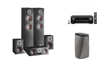 DENON AVR-X1500 + DALI OBERON 7/1/V HEOS 1