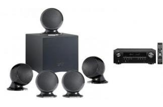 DENON AVR-S650H + CABASSE ALCYONE 2 SYSTEM 5.1