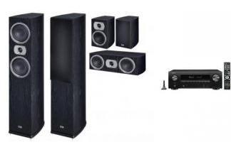 DENON AVR-X1500H + HECO PRIME 502