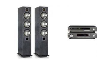 ARCAM SA10 + CDS50 + MONITOR AUDIO BRONZE 6