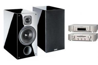 MARANTZ PM6007 S + CD6007 + INDIANA LINE DIVA 262