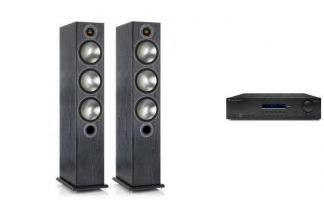CAMBRIDGE AUDIO SR10V2 + MONITOR AUDIO BRONZE 6
