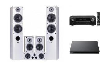 DENON AVR-X1600H DAB + UBP-X800M2 + WILSON RAPTOR 7 WH