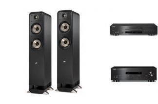 YAMAHA A-S201 + CD-S700 + POLK AUDIO S55E