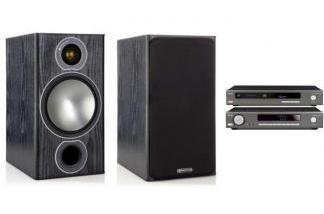 ARCAM SA10 + CDS50 + MONITOR AUDIO BRONZE 2