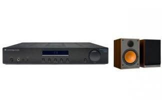 CAMBRIDGE AUDIO AM10 + MONITOR AUDIO MONITOR 100 br