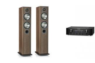 MARANTZ PM7005 + MONITOR AUDIO BRONZE 5 br