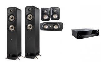 HARMAN KARDON AVR151S + POLK AUDIO S55E 5.0