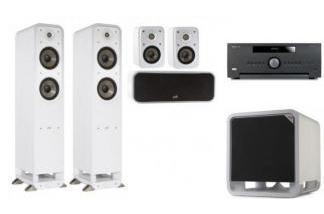 ARCAM AVR390 + POLK AUDIO S55E 5.1 WH