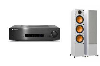 CAMBRIDGE AUDIO CXA60 + MONITOR AUDIO MONITOR 300 w