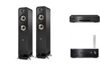 YAMAHA A-S501 + CD-S700 + POLK AUDIO S55E