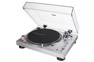 AUDIO-TECHNICA AT-LP120X srebrna