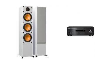 YAMAHA A-S201 + MONITOR AUDIO MONITOR 300 W