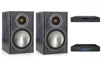 CAMBRIDGE AUDIO AM10 + CD5 + MONITOR AUDIO BRONZE 1