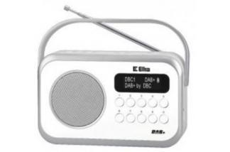Eltra Radio NATALIA DAB+ LCD (białe)