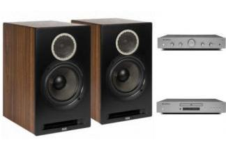 CAMBRIDGE AUDIO AXA25 + AXC25 + ELAC REFERENCE B6
